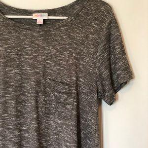 NWOT Ultra-Soft Heathered Gray Carly Dress